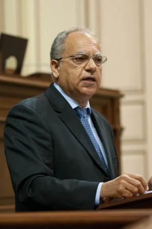 Casimiro Curbelo, de la Agrupación Socialista Gomera. | F. P.