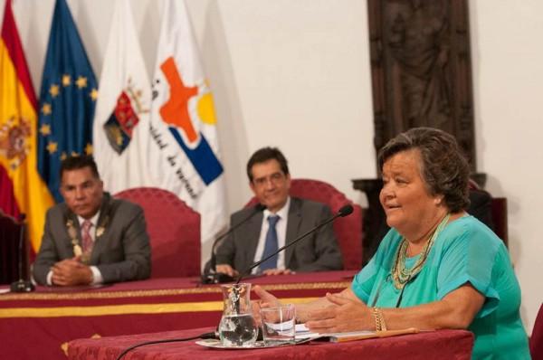 Cristina Almeida fue la encargada de la ponencia inaugural de la vigésimo tercera edición de la UVA. | FRAN PALLERO
