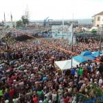 Más de 20.000 personas se dieron cita en la embarcación. / M. P. P.