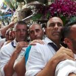 La fiesta, la embarcación y la procesión convierten cada año al Puerto de la Cruz en uno de los centros neurálgicos del mes de julio en el Archipiélago. / MOISÉS PÉREZ