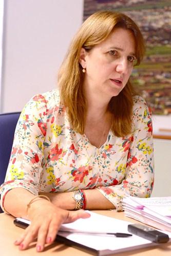 La responsable municipal de Bienestar Social, Flora Marrero. / S. MÉNDEZ