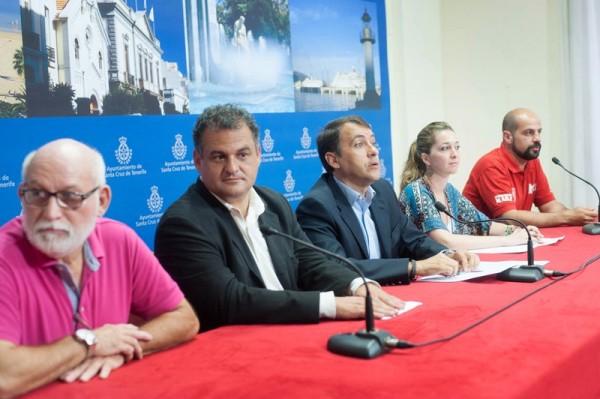 Una imagen de la presentación oficial del decisivo encuentro de hoy. / FRAN PALLERO