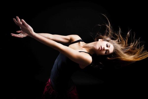 Paula Quintana, directora, bailarina y actriz tinerfeña. / DA