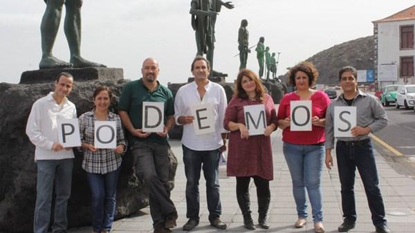 La corriente Claro que Podemos lideró el consejo ciudadano local, aunque perdió la secretaría general. / DA