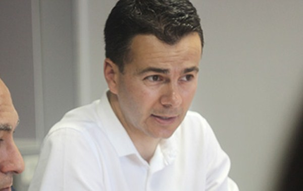 Héctor Gómez, presidente de la Gestora del PSOE en Tenerife. /  DA