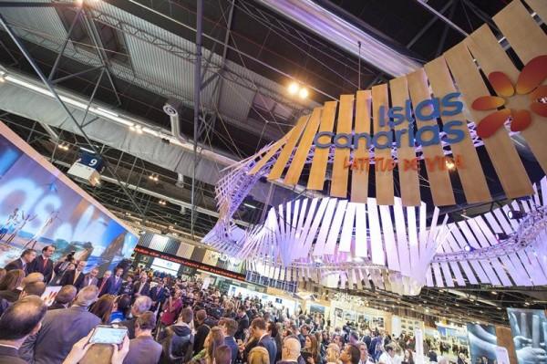Pabellón de Canarias en la última edición de la Feria Internacional de Turismo (Fitur). | DA