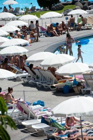 El complejo de piscinas incorpora este verano nuevas actividades. / F. P.
