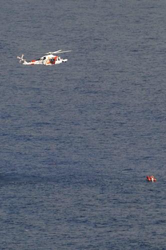 La actividad principal de Salvamento Marítimo es rescatar a personas en apuros, pero no la única. / M.P.
