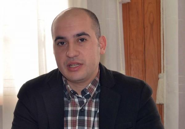 Román Martín, alcalde de El Tanque (PSOE). / M. P. P.