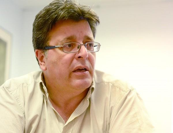 José Carlos Acha es el concejal de Cultura de Santa Cruz. / SERGIO MÉNDEZ
