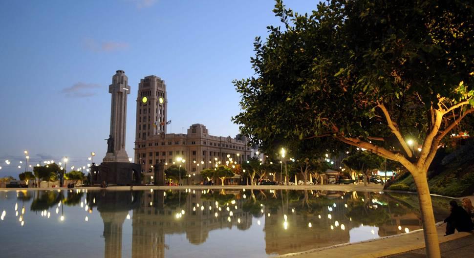 Imagen de archivo de la Plaza de España de Santa Cruz de Tenerife. | M. P.