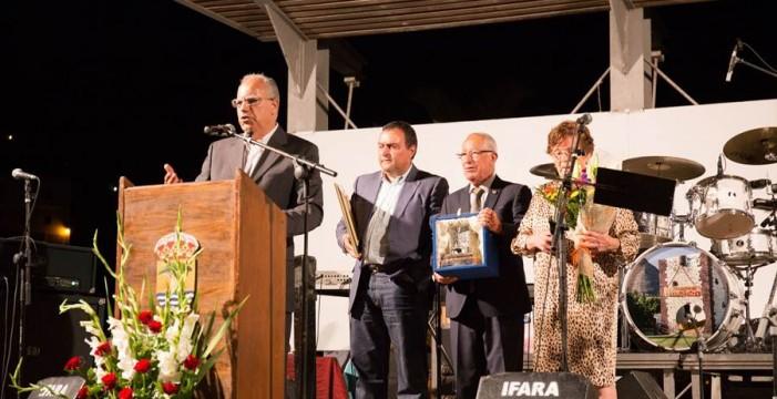 Alajeró y la Isla homenajean a Sito Simancas, que seguirá teniendo voz