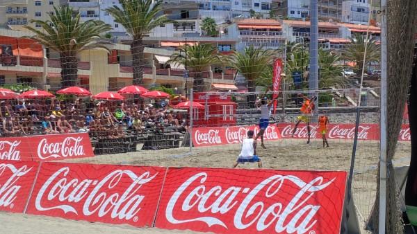 Torneo Coca Cola de voley playa.   DA