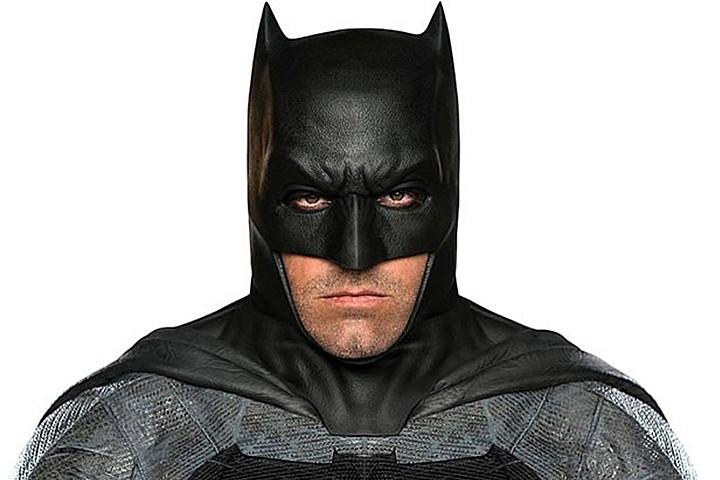 Ben Affleck, con su traje del Caballero Oscuro. / ARCHIVO