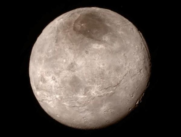 Caronte, la luna de Plutón. /  NASA