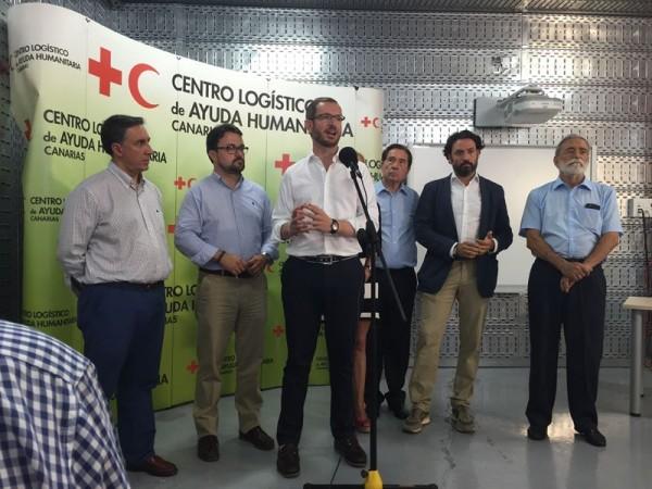 Javier Maroto (PP) en Las Palmas de Gran Canaria. / EP