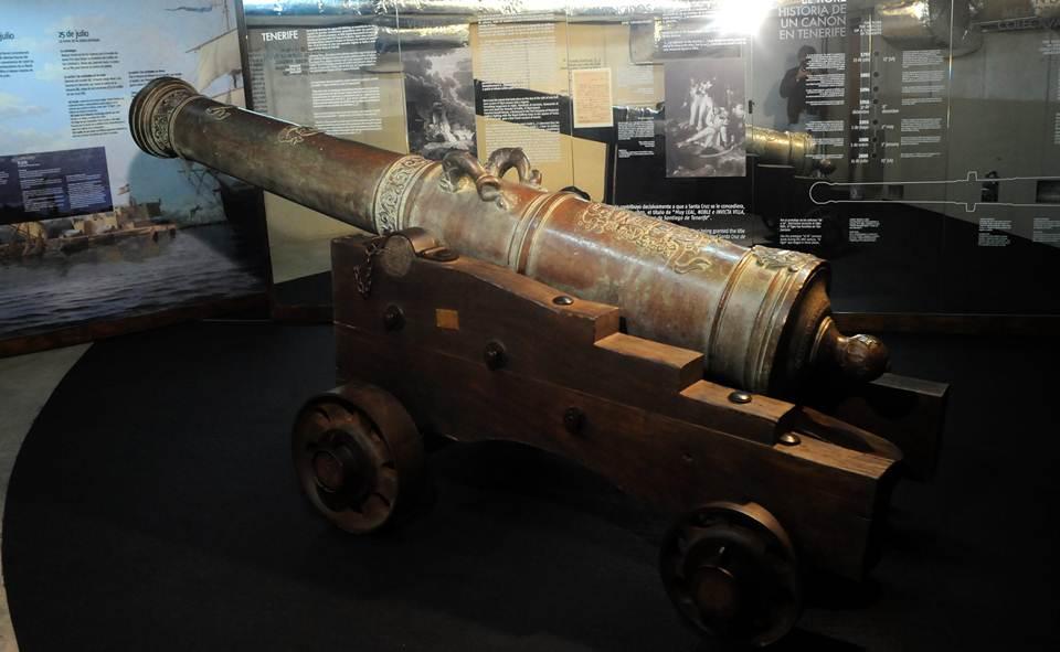 Santa Cruz de Tenerife celebra el 250 aniversario del cañón que hirió a Nelson