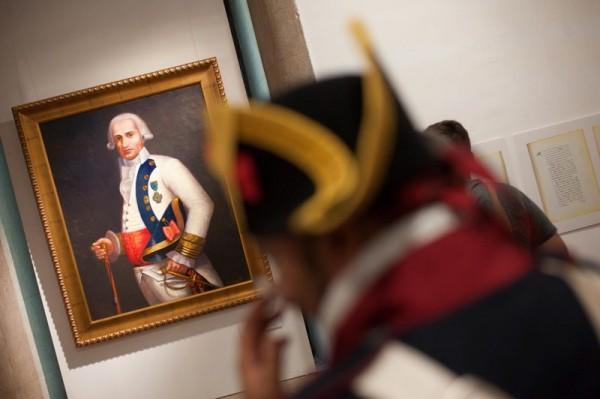 Preside la muestra un retrato del general Gutiérrez donado al museo.  / FP