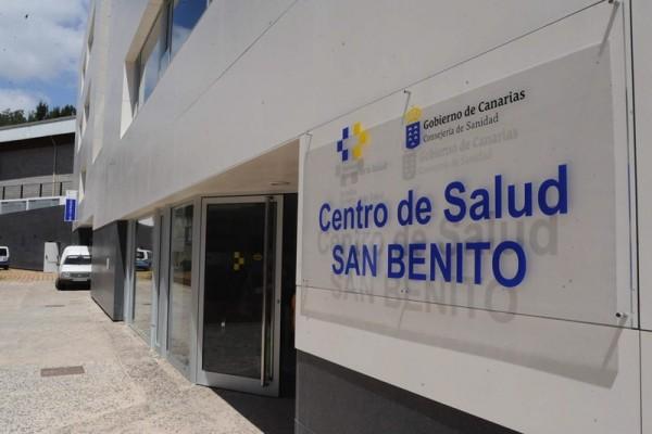 El nuevo centro de salud de San Benito, junto al CAE, abrió sus puertas en junio de 2011. / SERGIO MÉNDEZ