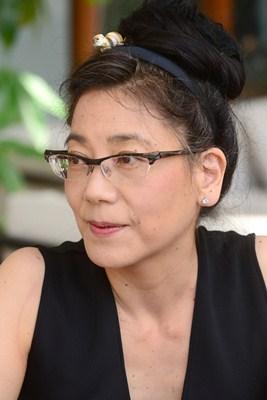Kimiko Ono posa en el Grand Hotel Mencey en Santa Cruz / SERGIO MÉNDEZ