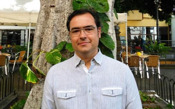 Moisés Morera se encuentra estos días en la isla de La Palma. / DA