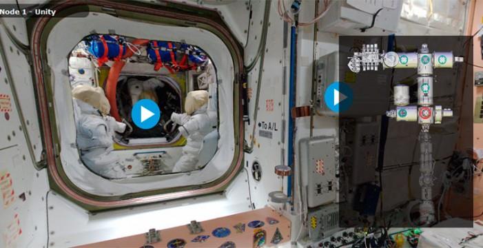 Recorre la Estación Espacial Internacional con esta visita virtual