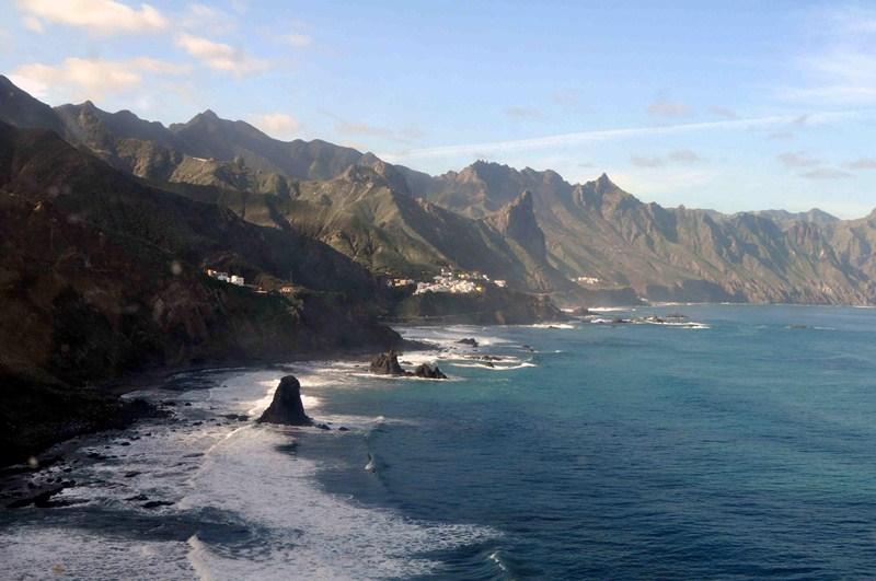El macizo de Anaga recibió el título de Reserva de la Biosfera de la Unesco el pasado 9 de junio. / M.P.