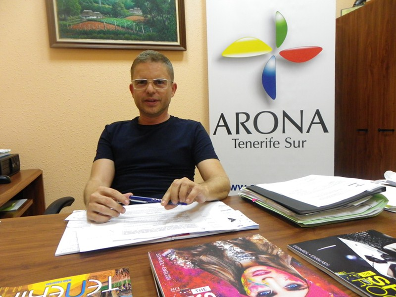 David Miguel Pérez, nuevo concejal de Turismo. / DA