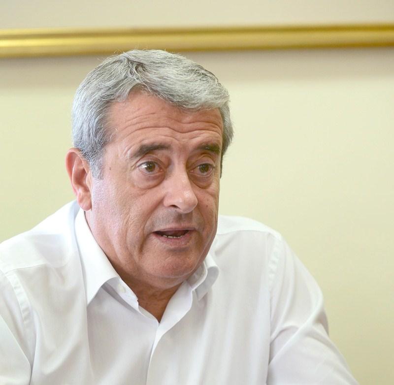 El vicepresidente del Cabildo, el socialista Aurelio Abreu. / S. M.