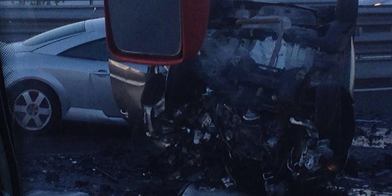Un coche en sentido contrario por la TF-1 causa dos muertos