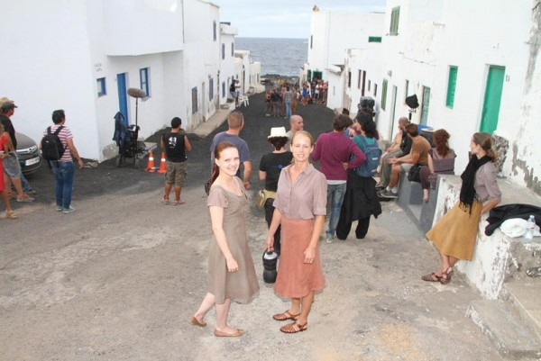 Rodaje de Evolution en Lanzarote. / DA