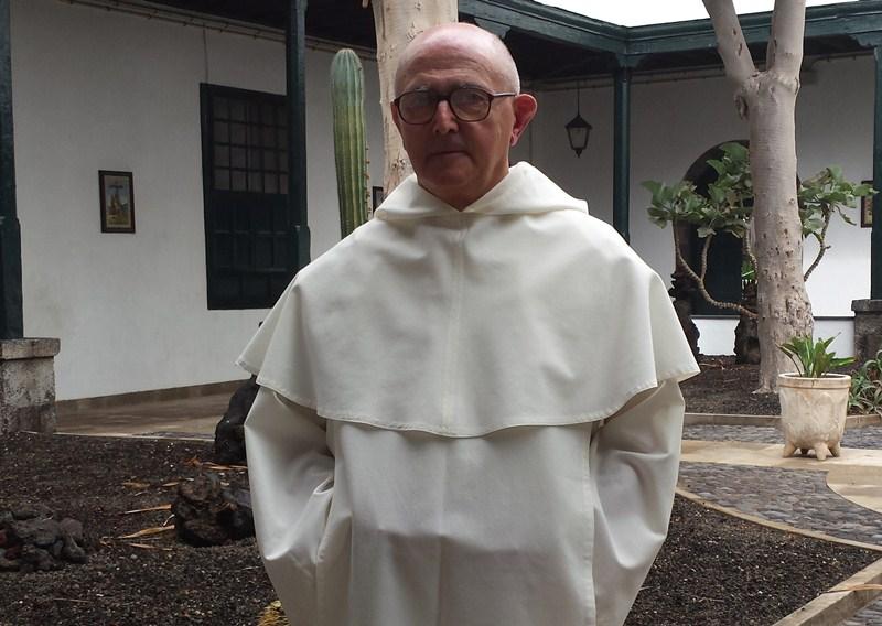 Daniel López, prior de la Basílica de  Candelaria. / J.C.M.