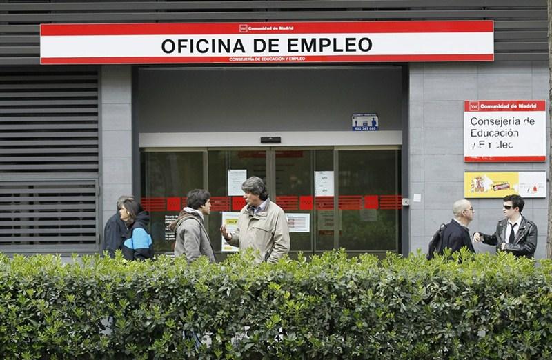 Imagen de una oficina de empleo. / EP