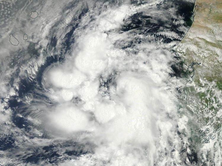 Fred, justo antes de convertirse en huracán, en imagen tomada el pasado domingo. / NHC