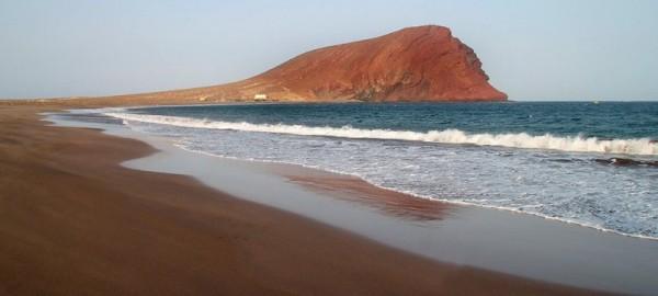 Bahía de La Tejita, donde fondeó Fernando de Magallanes al mando de cinco naos. / DA