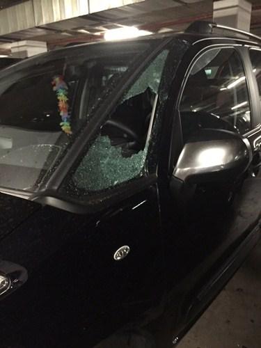 Imagen de uno de los vehículos afectados. / DA