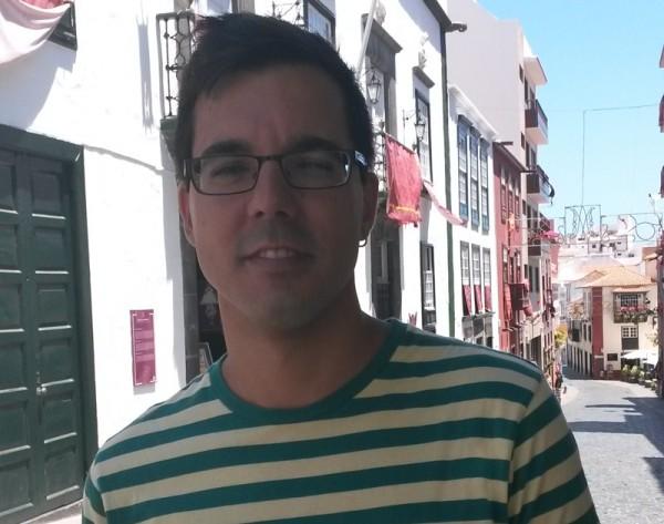 Haliam Pérez presentó en el Festivalito de La Palma su  primer documental, Marina. / BR