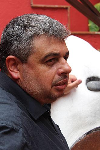 Jesús García Rodríguez, gerente de la Asociación Cultural Pinolere. / DA