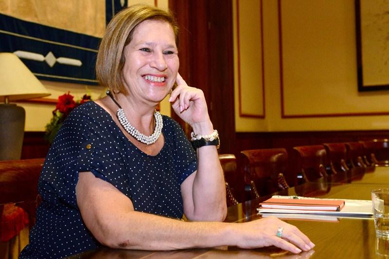 Marisa Zamora lleva casi 30 años en política, desempeñando diversos cargos de responsabilidad. / S. MÉNDEZ