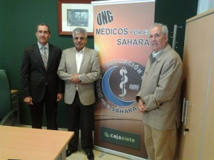 Arturo Clavijo (d) es el presidente de la organización, que se presentó en sociedad hace dos meses. /DA