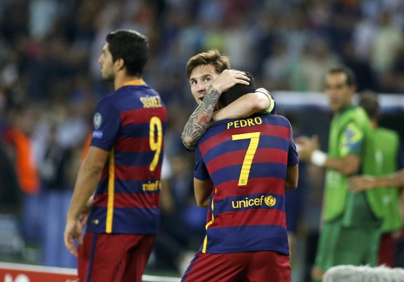 El FC Barcelona se ha proclamado campeón de la Supercopa de Europa tras imponerse al Sevilla FC (5-4). / EP
