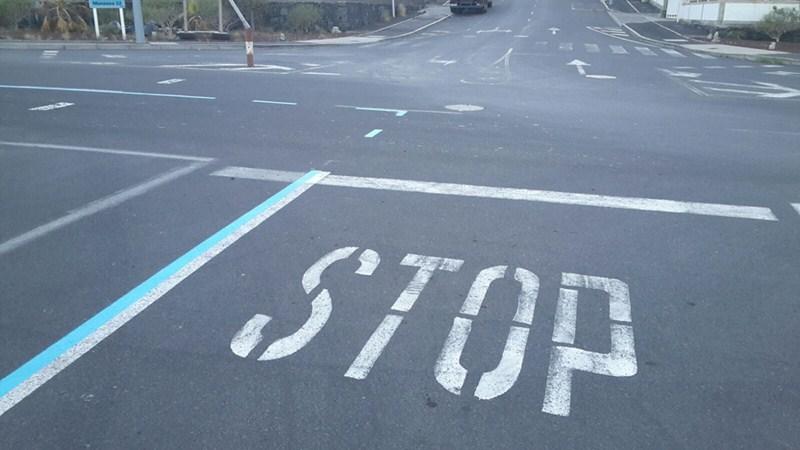 El alcalde de Arafo cree que las señales confunden a los vehículos. / DA