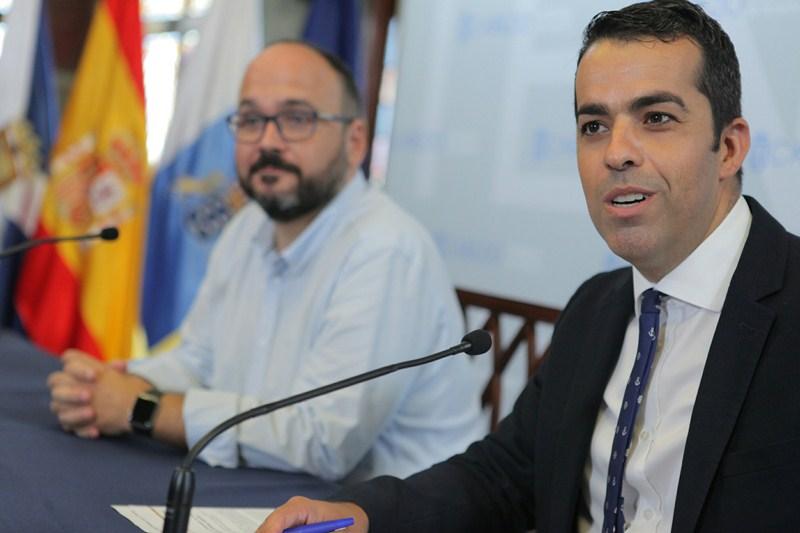 José Antonio Valbuena y Florentino Guzmán Plasencia, ayer en la rueda de prensa. / DA