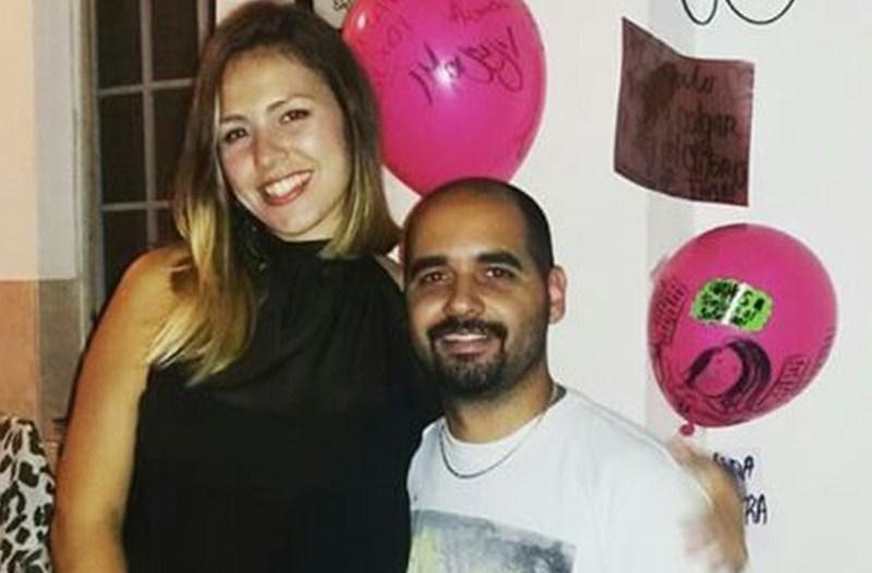 Andrea González y su pareja fueron detenidos, y ni la familia ni sus abogados han podido hablar con ellos. / DA