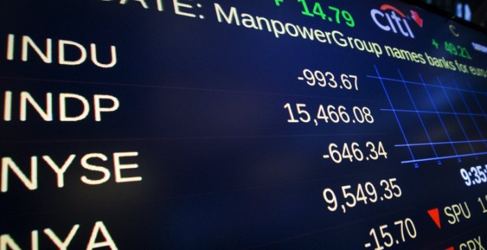 Wall Street se desploma en la apertura por el temor a China