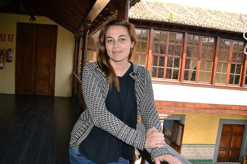 La concejal de Hacienda, Candelaria Díaz. / DA