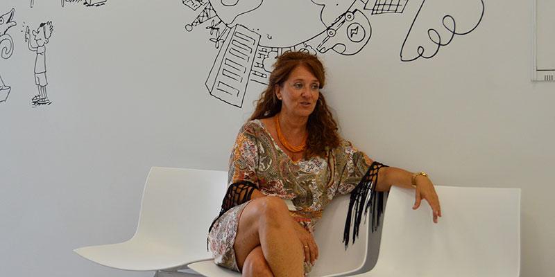 Carmen de Miguel, directora general de la Factoría de Innovación Turística Canarias. / J.L.C.