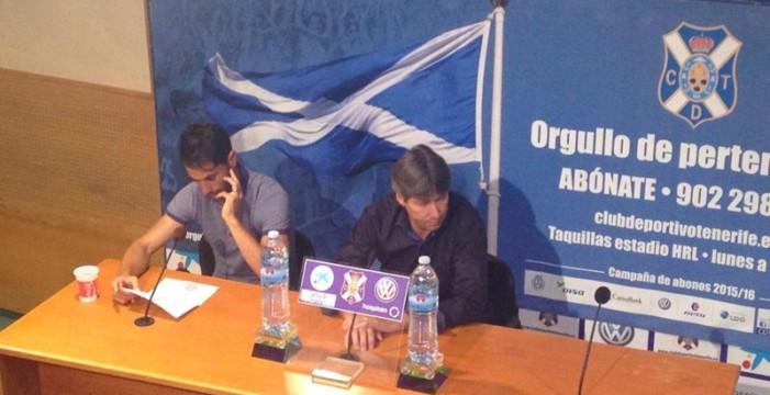 El CD Tenerife y el Real Valladolid acuerdan el traspaso de Javi Moyano