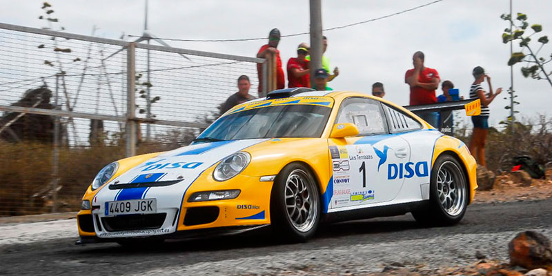 Enrique Cruz se ha mostrado intratable a los mandos del Porsche 991 997 GT3. / DA