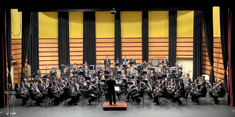 La Filarmónica Nivaria de Arafo, creada en 1860, se pondrá hoy a las órdenes de Ferrán Ferrer. / DA